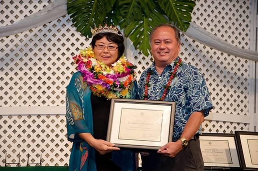 Lynn Nakamura-Tengan Dean's Outstanding Achievement Award for Extension 2016