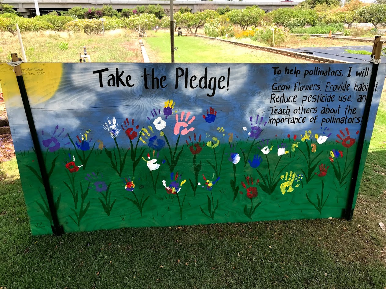 Take the pollinator pledge!