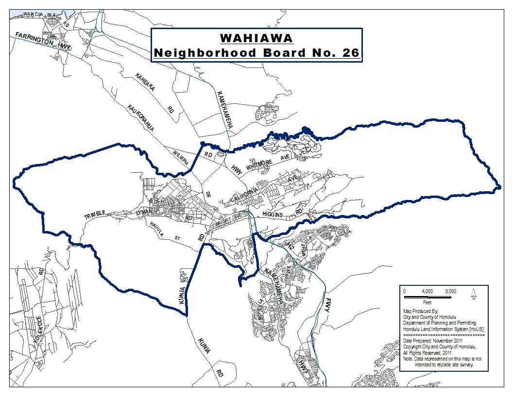 Wahiaw Community Evaluation