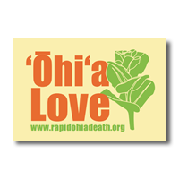 ʻŌhiʻa Love sticker