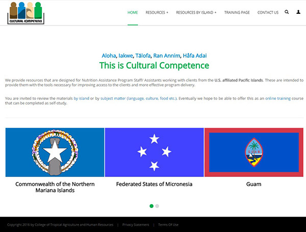 Cultural Competence Website